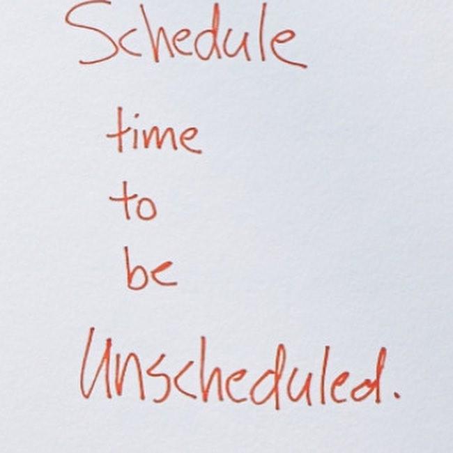 unscheduled